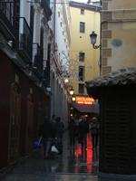 Blick zur Chocolateria San Gines