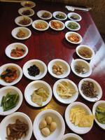 Traditionelles Mittagessen in Korea