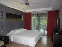 Hotelzimmer auf Tahiti