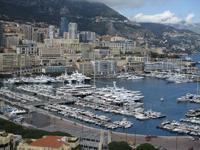 Der Yachthafen von Monaco