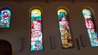 Glasfenster von Hans Erni in Martigny