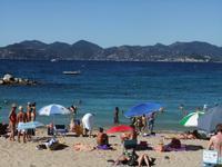 Cannes. Strand La Bocca - Esterel