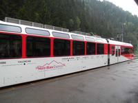 Der Mont-Blanc Express in le Chatelard de Frontiere