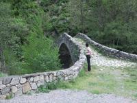 Andorra. Romanische Brücke