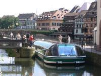 Strasbourg. Bootsfahrt