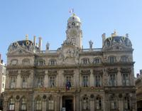 Lyon Place de Terreaux Rathaus