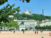 Lyon - Place Belcour