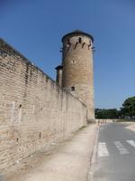 Cluny. Mauer der Klosterbezirkes