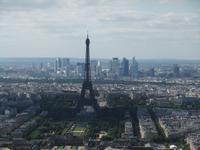 Tour Montparnasse. Eifelturm und La Defense