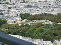Tour Montparnasse. Parc du Luxembourg