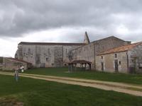 die Abtei von Maillezais mit Kathedrale war einst Bischofssitz