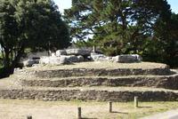 Tumulus (Dolmen)  Megalithanlage bei Pornic, (3)