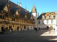 Beaune, Hôtel-Dieu, Innenhof
