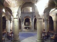 Krypta der Kathedrale in Dijon