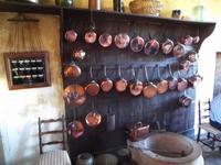 In der Küche in Cormatin
