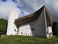 Die Kapelle von Ronchamp