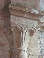 Fontenay. Abteikirche. Kapitell