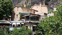 Ein nettes Restaurant in Moustiers-Sainte-Marie