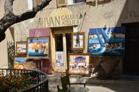 Viel Kunst in St. Tropez