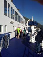 Wanderkreuzfahrt mit der Berlin - Einfahrt in Kotor