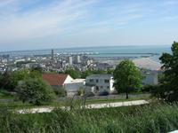 Le Havre mit Hafenanlagen
