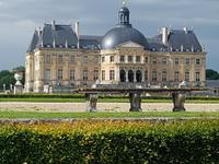 26.5.2018 Schloss Vaux-le-Vicomte Gartenseite