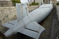 Tag 7 Hafen Cherbourg, das erste französisches Atom U-Boot