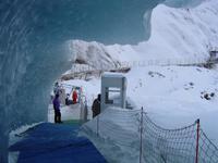 Eingang Eisgrotte Mer du Glace (A)