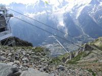Chamonix. Blick vom Brevent