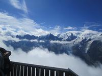 Mont Blanc vom Brevent