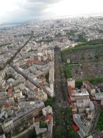 Aussicht auf Paris vom Tour Montparnasse