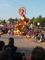 Der König der Löwen auf der Parade