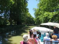 auf dem Canal de Midi