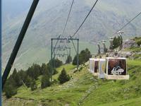 mit dem Lift von Nuria auf 2150 m üNN