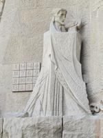 Judaskuss an der Sagrada Familia