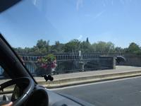 Canal du Midi. Kanalbrücke in Béziers