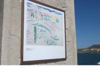 Colliure. Matisse: Le Port, plage St.-Vincent (1905)
