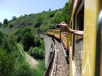 Fahrt mit dem Train Jaune