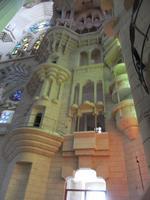 Sagrada Famila. Seitenschiff