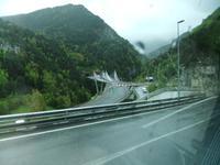 Tunnel de dos Vallires. Einfahrt