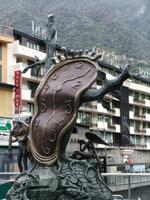 Andorra la Vella. Erinnerung an Dali