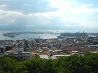 MS Berlin im Hafen Messina