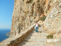 Insel Amorgos Felsenkloster
