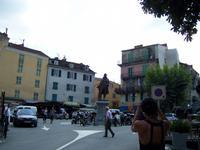 Place Paoli mit der Broncestatue des Babbu di a  patria