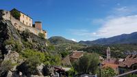 Korsika, Corte, Adlernest und Stadt