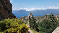 Korsika, Calanches