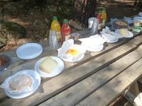 Picknick in der Calanche