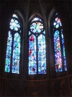 Reims. Kathedrale. Chagallfenster