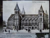 Tours. Die alte Basilika St.-Martin