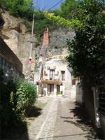 Amboise. Troglydytenwohnung